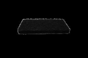 Küürimisplaat 25x12 cm must