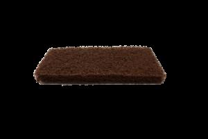 Küürimisplaat 25x12 cm pruun