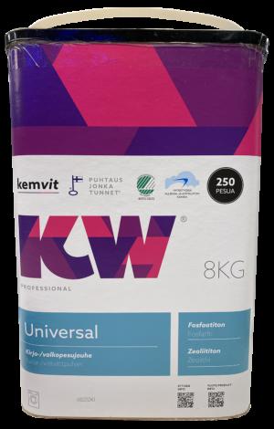 Kemvit pesupulber tseoliidi -ja fosfaadivaba UNIVERSAL 8kg