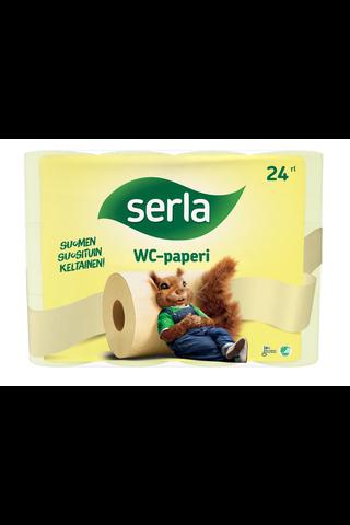 SERLA_Tualettpaber_Super_3-kihiline_kollane_(20 m)