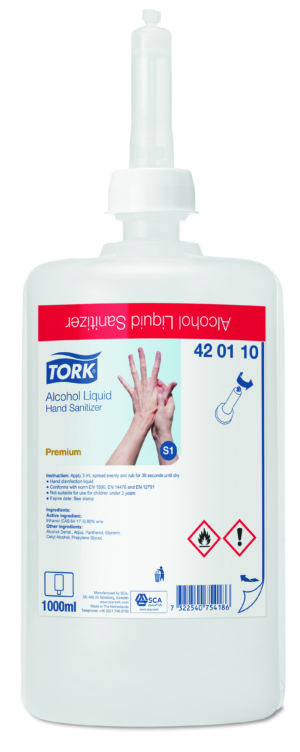 Tork_alkoholipõhine_vedel_antiseptik_kätele_1l_S1