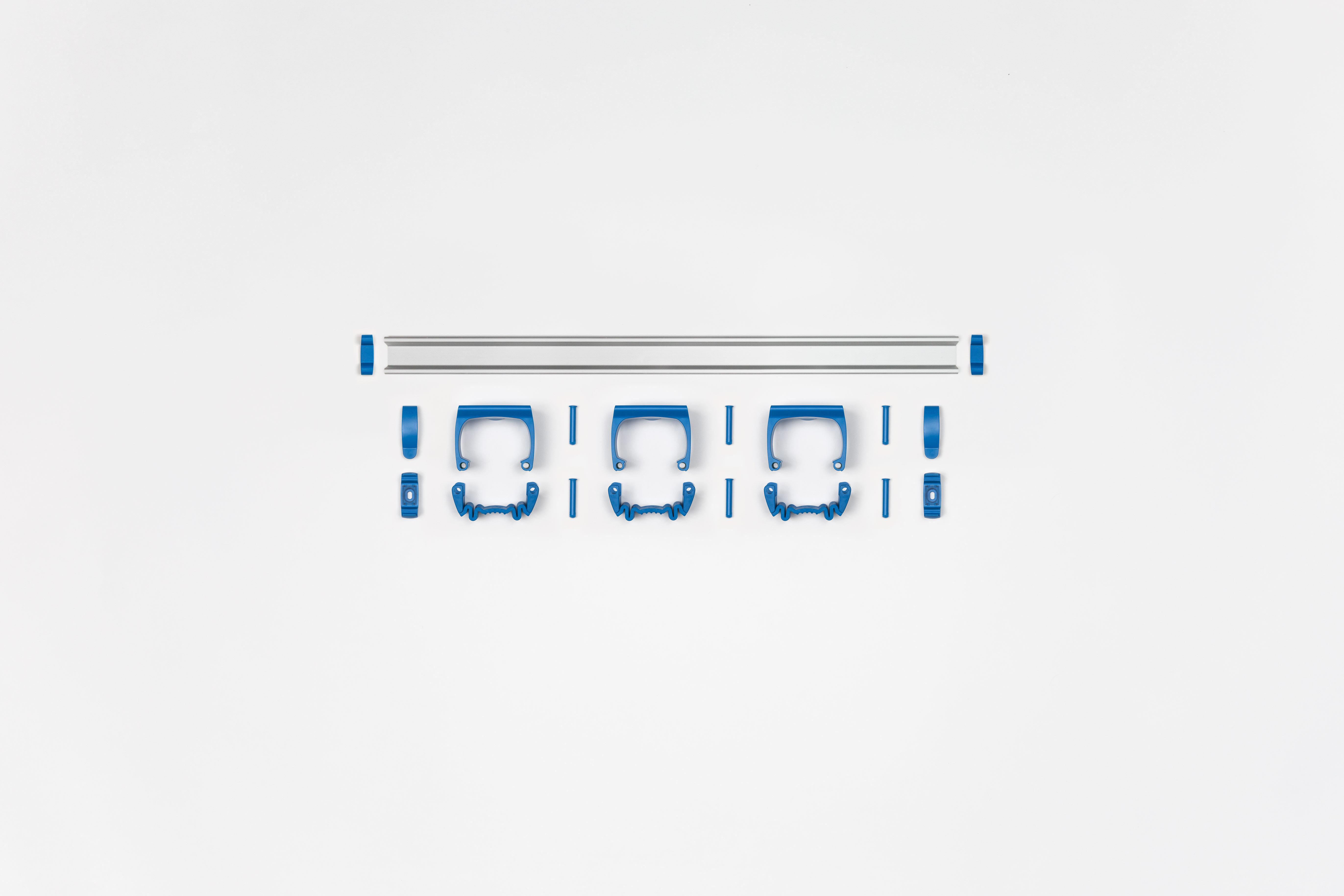 Toolflex P-01 tarvikutehoidja liistule, sinine