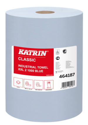 KATRIN CLASSIC XXL 2 rullrätik, sinine (380m)