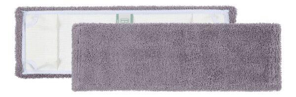 Madalakarvaline mikrofiibermopp hall taskutega raamile 40x14cm.